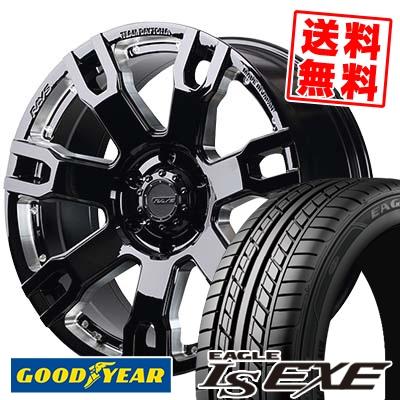 225/35R20 90W XL Goodyear グッドイヤー LS EXE LS エグゼ RAYS TEAM DAYTONA FDX F7S レイズ チームデイトナ FDX F7S サマータイヤホイール4本セット