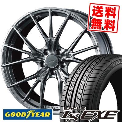 235/40R18 95W XL Goodyear グッドイヤー LS EXE LS エグゼ WEDS F ZERO FZ-1 ウェッズ エフゼロ FZ-1 サマータイヤホイール4本セット【取付対象】