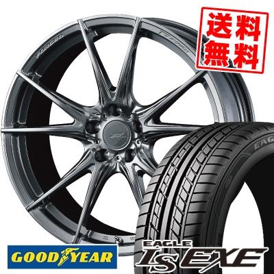 235/40R18 95W XL Goodyear グッドイヤー LS EXE LS エグゼ WEDS F ZERO FZ-2 ウェッズ エフゼロ FZ-2 サマータイヤホイール4本セット【取付対象】