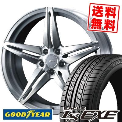 235/40R18 95W XL Goodyear グッドイヤー LS EXE LS エグゼ WEDS F ZERO FZ-3 ウェッズ エフゼロ FZ-3 サマータイヤホイール4本セット【取付対象】