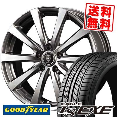 235/45R17 94W Goodyear グッドイヤー LS EXE LS エグゼ Euro Speed G10 ユーロスピード G10 サマータイヤホイール4本セット【取付対象】