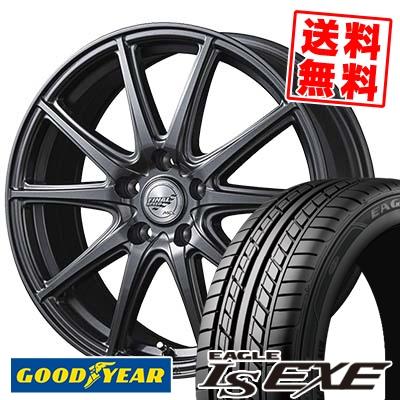 235/40R18 95W XL Goodyear グッドイヤー LS EXE LS エグゼ FINALSPEED GR-Γ ファイナルスピード GRガンマ サマータイヤホイール4本セット