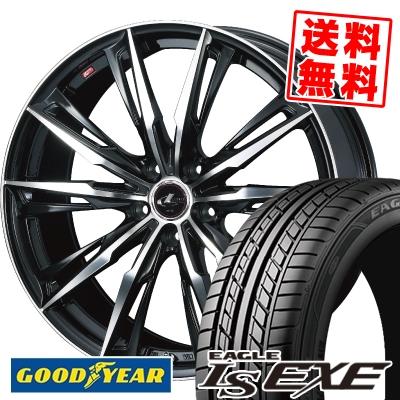 215/65R16 98H Goodyear グッドイヤー LS EXE LS エグゼ WEDS LEONIS GX ウェッズ レオニス GX サマータイヤホイール4本セット
