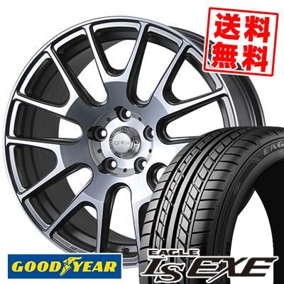 235/45R17 94W Goodyear グッドイヤー LS EXE LS エグゼ IGNITE XTRACK イグナイト エクストラック サマータイヤホイール4本セット