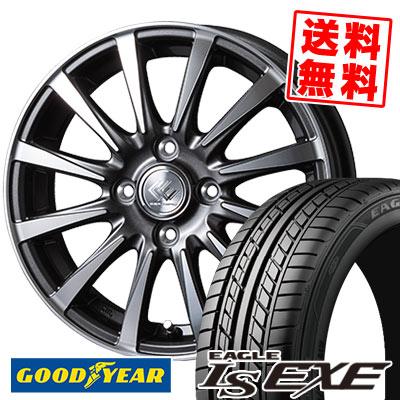 175/65R15 84H Goodyear グッドイヤー LS EXE LS エグゼ CEREBRO JB12 セレブロ JB12 サマータイヤホイール4本セット