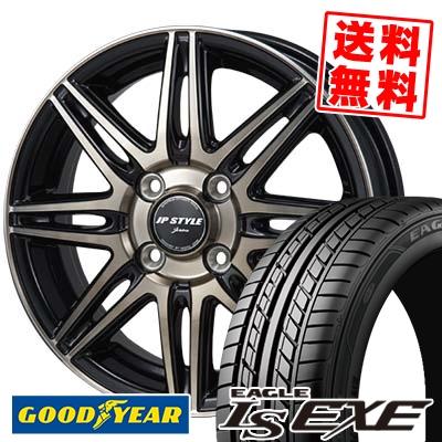 195/50R15 82V Goodyear グッドイヤー LS EXE LS エグゼ JP STYLE JERIVA JPスタイル ジェリバ サマータイヤホイール4本セット