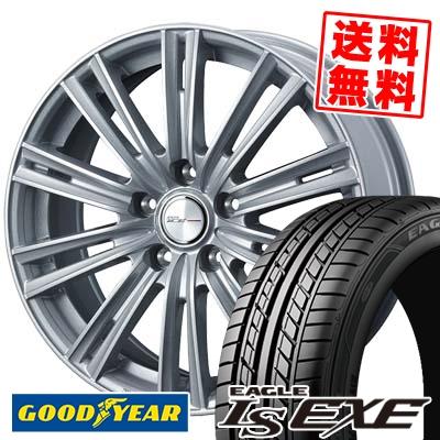 225/45R17 91W Goodyear グッドイヤー LS EXE LS エグゼ WEDS JOKER ICE ウェッズ ジョーカー アイス サマータイヤホイール4本セット