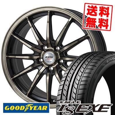 195/60R15 88H Goodyear グッドイヤー LS EXE LS エグゼ JP STYLE Vercely JPスタイル バークレー サマータイヤホイール4本セット