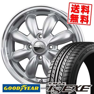 195/55R16 87V Goodyear グッドイヤー LS EXE LS エグゼ LaLa Palm CUP ララパーム カップ サマータイヤホイール4本セット