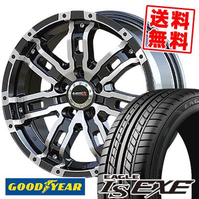 225/55R16 95V Goodyear グッドイヤー LS EXE LS エグゼ B-MUD Z Bマッド ゼット サマータイヤホイール4本セット
