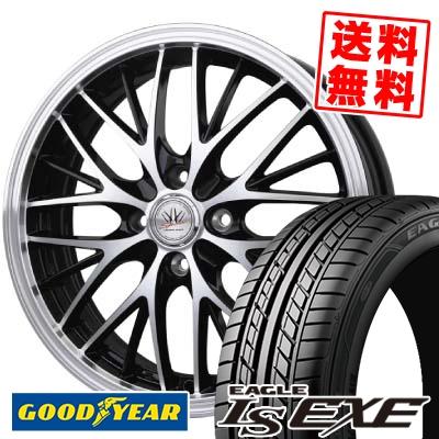 165/45R16 74W XL Goodyear グッドイヤー LS EXE LS エグゼ BADX LOXARNY SPORT MW-8 バドックス ロクサーニスポーツ MW-8 サマータイヤホイール4本セット