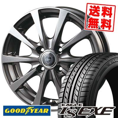 195/50R15 82V Goodyear グッドイヤー LS EXE LS エグゼ CLAIRE RG10 クレール RG10 サマータイヤホイール4本セット
