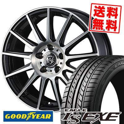 235/45R17 94W Goodyear グッドイヤー LS EXE LS エグゼ WEDS RIZLEY KG ウェッズ ライツレーKG サマータイヤホイール4本セット