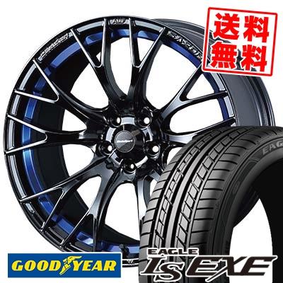 235/40R18 95W XL Goodyear グッドイヤー LS EXE LS エグゼ WedsSport SA-20R ウェッズスポーツ SA20R サマータイヤホイール4本セット