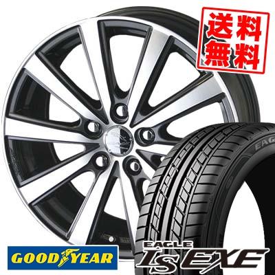 215/55R16 93V Goodyear グッドイヤー LS EXE LS エグゼ SMACK VIR スマック VI-R サマータイヤホイール4本セット