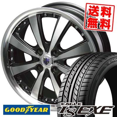 195/50R15 82V Goodyear グッドイヤー LS EXE LS エグゼ STEINER VS-5 シュタイナー VS5 サマータイヤホイール4本セット
