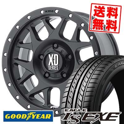 215/65R16 98H Goodyear グッドイヤー LS EXE LS エグゼ KMC XD127 BULLY KMC XD127 ブリー サマータイヤホイール4本セット