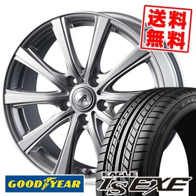 235/40R18 95W XL Goodyear グッドイヤー LS EXE LS エグゼ AZ sports YL-10 AZスポーツ YL-10 サマータイヤホイール4本セット