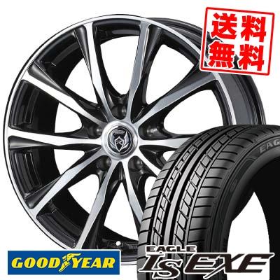 205/60R16 92H Goodyear グッドイヤー LS EXE LS エグゼ weds RIZLEY ZM ウェッズ ライツレー ゼットエム サマータイヤホイール4本セット