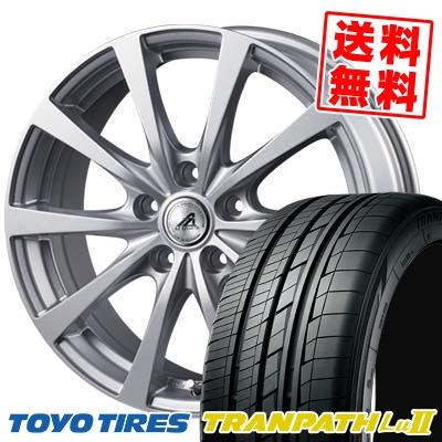 215/60R17 96V TOYO TIRES トーヨー タイヤ TRANPATH Lu2 トランパス Lu2 AZ SPORTS EX10 AZスポーツ EX10 サマータイヤホイール4本セット