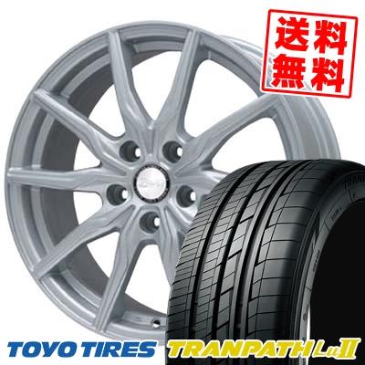 215/65R16 TOYO TIRES トーヨー タイヤ TRANPATH Lu2 トランパス Lu2 B-WIN KRX B-WIN KRX サマータイヤホイール4本セット