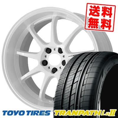 245/40R19 98W TOYO TIRES トーヨー タイヤ TRANPATH Lu2 トランパス Lu2 WORK EMOTION D9R ワーク エモーション D9R サマータイヤホイール4本セット