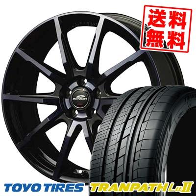 215/65R16 TOYO TIRES トーヨー タイヤ TRANPATH Lu2 トランパス Lu2 SCHNEIDER DR-01 シュナイダー DR-01 サマータイヤホイール4本セット