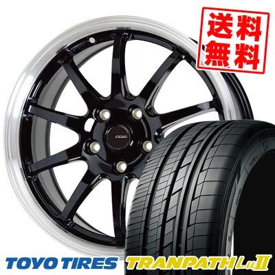 225/60R17 99V TOYO TIRES トーヨー タイヤ TRANPATH Lu2 トランパス Lu2 G.speed P-04 ジースピード P-04 サマータイヤホイール4本セット