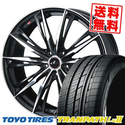 215/65R16 98V TOYO TIRES トーヨー タイヤ TRANPATH Lu2 トランパス Lu2 WEDS LEONIS GX ウェッズ レオニス GX サマータイヤホイール4本セット