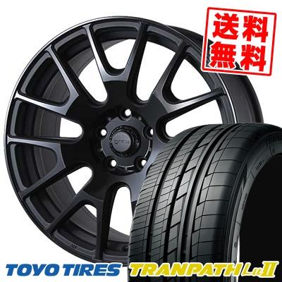 235/50R18 TOYO TIRES トーヨー タイヤ TRANPATH Lu2 トランパス Lu2 IGNITE XTRACK イグナイト エクストラック サマータイヤホイール4本セット