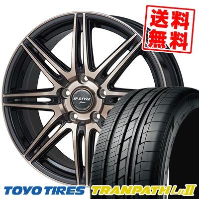 235/50R18 TOYO TIRES トーヨー タイヤ TRANPATH Lu2 トランパス Lu2 JP STYLE JERIVA JPスタイル ジェリバ サマータイヤホイール4本セット