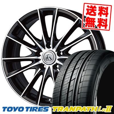 225/55R18 TOYO TIRES トーヨー タイヤ TRANPATH Lu2 トランパス Lu2 Kashina FV7 カシーナ FV7 サマータイヤホイール4本セット