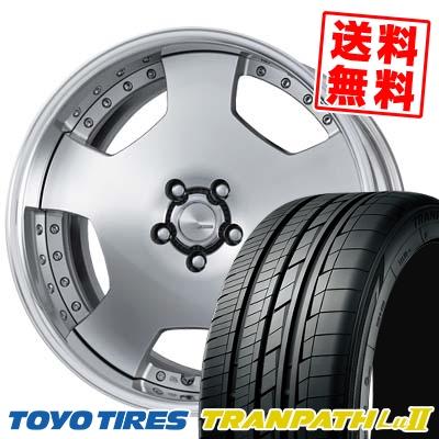 245/40R19 98W TOYO TIRES トーヨー タイヤ TRANPATH Lu2 トランパス Lu2 WORK LANVEC LD1 ワーク ランベック エルディーワン サマータイヤホイール4本セット