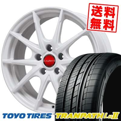 225/55R18 TOYO TIRES トーヨー タイヤ TRANPATH Lu2 トランパス Lu2 LeyBahn WGS レイバーン WGS サマータイヤホイール4本セット