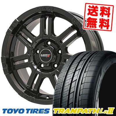 215/65R16 98V TOYO TIRES トーヨー タイヤ TRANPATH Lu2 トランパス Lu2 B-MUD X Bマッド エックス サマータイヤホイール4本セット