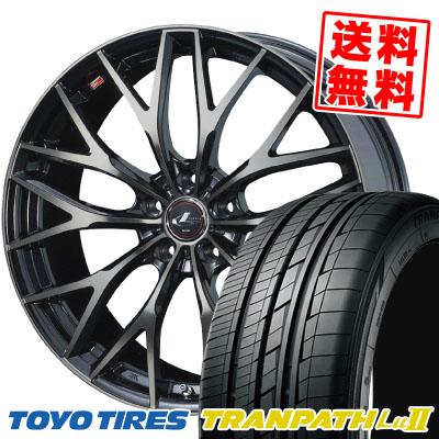 215/65R16 98V TOYO TIRES トーヨー タイヤ TRANPATH Lu2 トランパス Lu2 weds LEONIS MX ウェッズ レオニス MX サマータイヤホイール4本セット