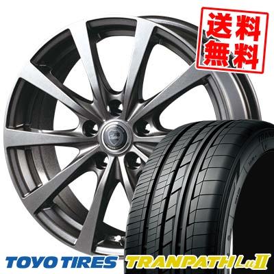 215/60R17 96V TOYO TIRES トーヨー タイヤ TRANPATH Lu2 トランパス Lu2 CLAIRE RG10 クレール RG10 サマータイヤホイール4本セット