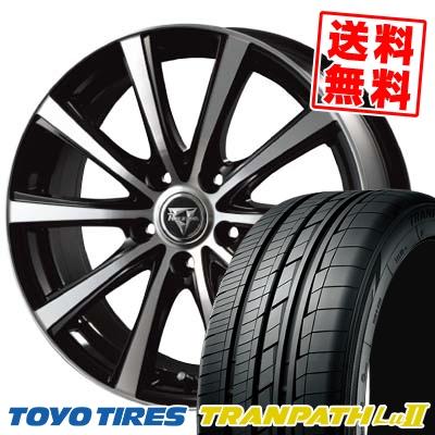 225/55R18 98V TOYO TIRES トーヨー タイヤ TRANPATH Lu2 トランパス Lu2 Razee XV レイジー XV サマータイヤホイール4本セット