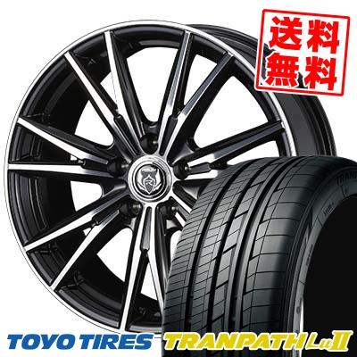 235/50R18 101W TOYO TIRES トーヨー タイヤ TRANPATH Lu2 トランパス Lu2 WEDS RIZLEY DK ウェッズ ライツレーDK サマータイヤホイール4本セット