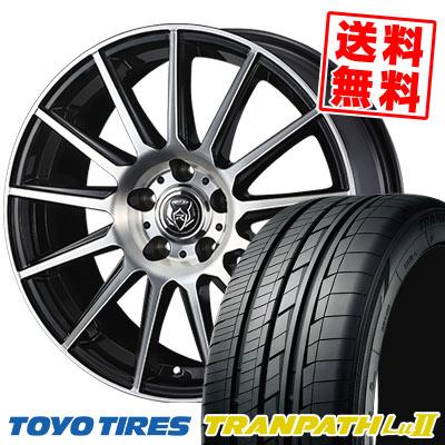 215/65R16 98V TOYO TIRES トーヨー タイヤ TRANPATH Lu2 トランパス Lu2 WEDS RIZLEY KG ウェッズ ライツレーKG サマータイヤホイール4本セット