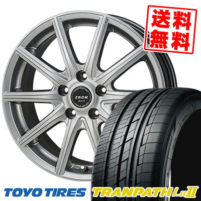 225/60R17 99V TOYO TIRES トーヨー タイヤ TRANPATH Lu2 トランパス Lu2 ZACK SPORT-01 ザック シュポルト01 サマータイヤホイール4本セット
