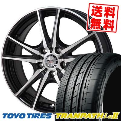 235/50R18 TOYO TIRES トーヨー タイヤ TRANPATH Lu2 トランパス Lu2 JP STYLE Vogel JPスタイル ヴォーゲル サマータイヤホイール4本セット