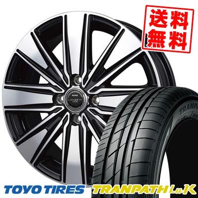 165/55R15 75V TOYO TIRES トーヨー タイヤ TRANPATH LuK トランパス LuK BADX バッドクス ロクサーニ VX ダブルビジョンDD-8 サマータイヤホイール4本セット