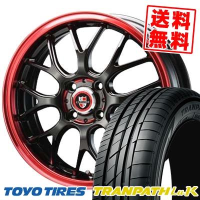 165/60R14 TOYO TIRES トーヨー タイヤ TRANPATH LuK トランパス LuK EXPLODE-RBM エクスプラウド RBM サマータイヤホイール4本セット