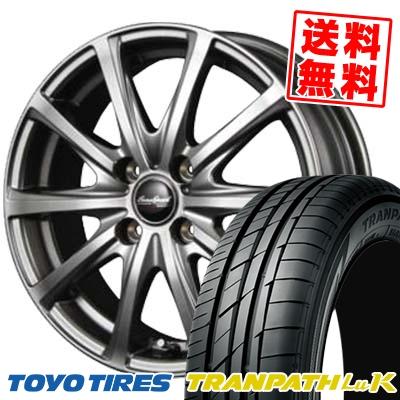 155/65R13 TOYO TIRES トーヨー タイヤ TRANPATH LuK トランパス LuK EuroSpeed V25 ユーロスピード V25 サマータイヤホイール4本セット