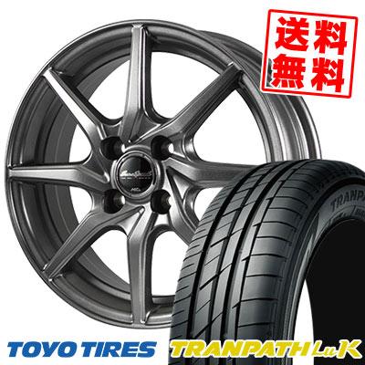 155/65R13 73S TOYO TIRES トーヨー タイヤ TRANPATH LuK トランパス LuK EuroSpeed G810 ユーロスピード G810 サマータイヤホイール4本セット