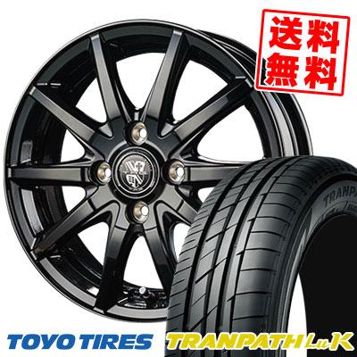 165/65R13 77S TOYO TIRES トーヨー タイヤ TRANPATH LuK トランパス LuK TRG-GB10 TRG GB10 サマータイヤホイール4本セット