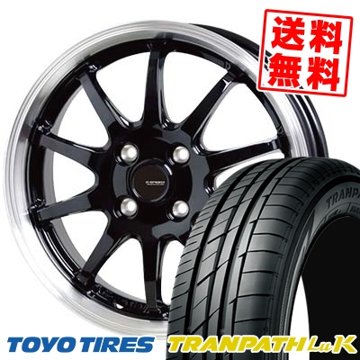 165/45R16 74W TOYO TIRES トーヨー タイヤ TRANPATH LuK トランパス LuK G.speed P-04 ジースピード P-04 サマータイヤホイール4本セット