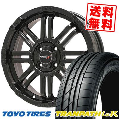 165/45R16 74W TOYO TIRES トーヨー タイヤ TRANPATH LuK トランパス LuK B-MUD X Bマッド エックス サマータイヤホイール4本セット