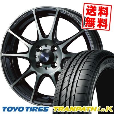 165/50R16 75V TOYO TIRES トーヨー タイヤ TRANPATH LuK トランパス LuK WedsSport SA-25R ウェッズスポーツ SA-25R サマータイヤホイール4本セット